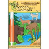 North American Animals Activity Book 1 w Invisible Ink