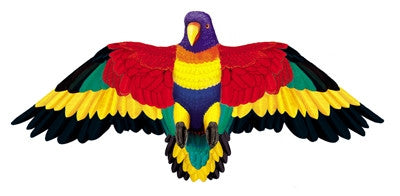 "Wildlife Rainbow Parrot Bird Wing Flapper Kite-55"" Wingspan"