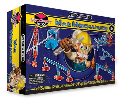 Ein-O Science Mad Mechanics Experiment Kit