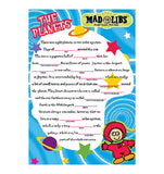 The Planets Mad Libs Mural Dry Erase Surface 24x18 inch