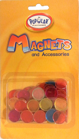100 Steel Ringed Transparent Assorted Colored Chips - Online Science Mall