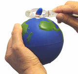 3D Magnetic Earth & Field Pole Finder Demonstrator Globe