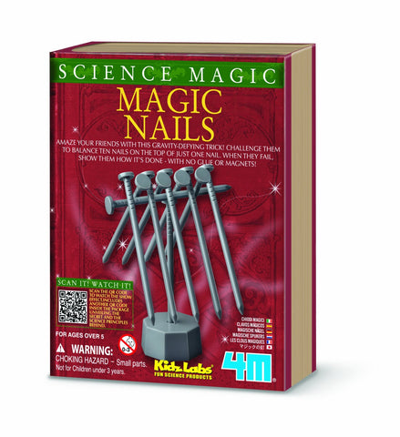4M Science Magic - Magic Nails Balancing Tricks