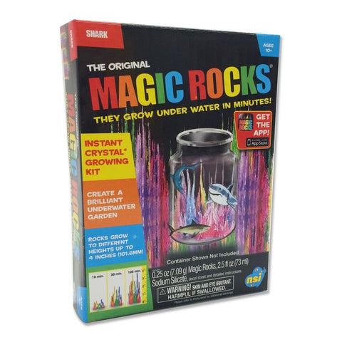 The Original Magic Rocks Crystal Growing Kit By Toysmith