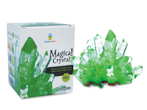 Magical Crystal Growing Kit - Green