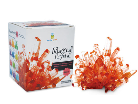 Magical Crystal Growing Kit - Red