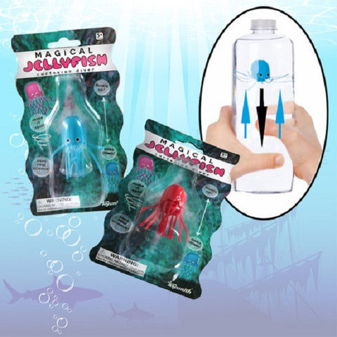 Magical Jellyfish Underwater Science Activity Toy: Cartesian Diver