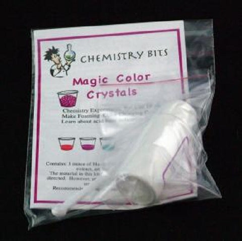 Magic Color Crystals -Experiment Activity Chemistry Bits Kit