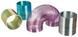 Metal Magic Spring 2 Inch Coiled Toy - Pack of 3 Colors Vary