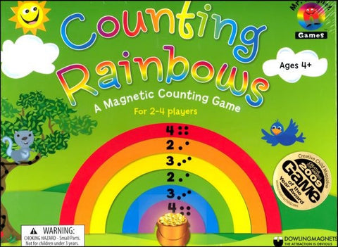 Magnetic Counting Rainbows Magnetic Game Ages 4+