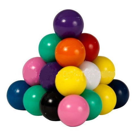 Magnetic Marbles:400 Count Solid Colors w Display Bucket