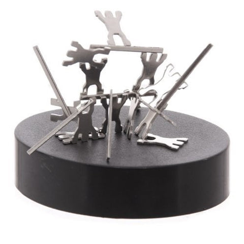 Magnetic Sculptures Acrobats Desk Top Toy