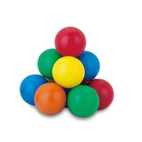 1 3/8 inches Jumbo Sized Magnetic Marbles Colorful Set Of 5 - Online Science Mall