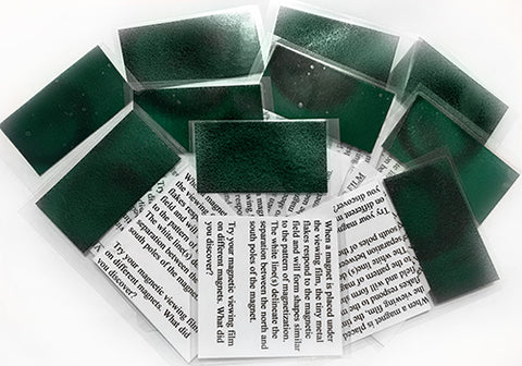 *CLEARANCE* 10 Magnetic Field Viewing Film Laminated Cards