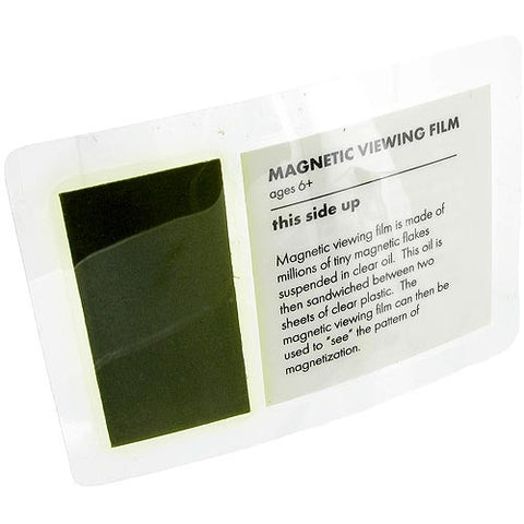 10 Magnetic Field Viewing Film Laminated Cards - Online Science Mall