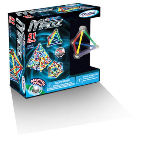 Magz Magnetic Construction Toy - 51 Piece Set