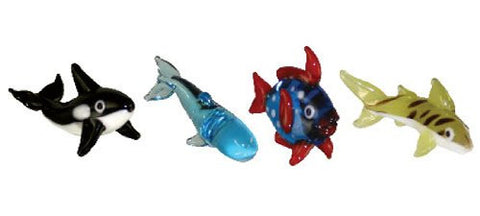 Looking Glass Torch - Ocean Figurines -Orca, Whale, Opah & Shark  (4-Pack)