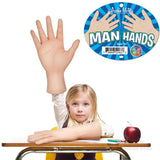 14 Inch Latex Man Hands By Accoutrements - Online Science Mall