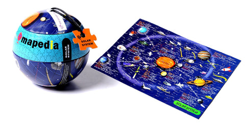 100pc Mapedia Solar System Jigsaw Puzzle, by The Purple Cow