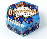 "House of Marbles 19 Piece Hexagonal Mosaic Puzzle ""Marbles"""