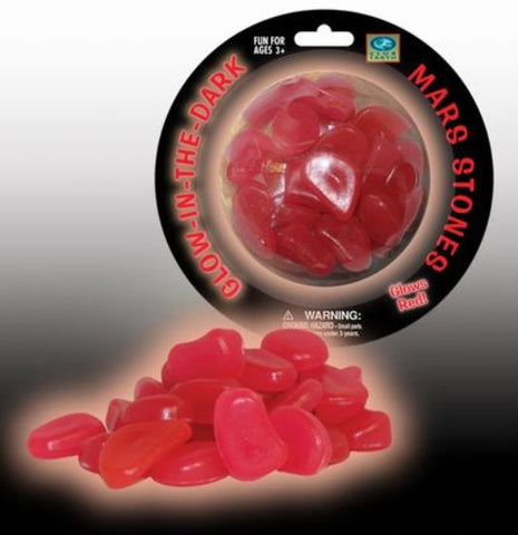 Club Earth - Glow in the Dark - Mars Stones - Glow Red