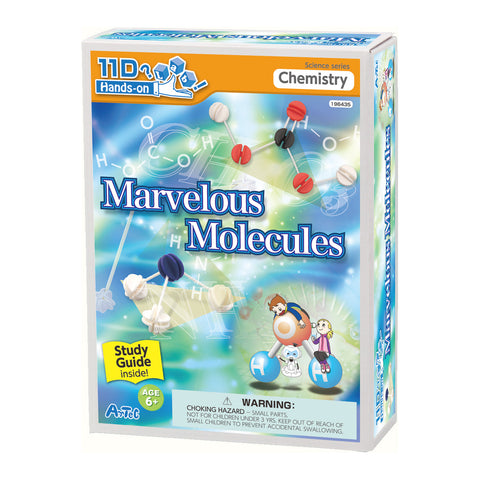 Marvelous Molecules Kit and Study Guide By Artec