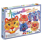 Aquarellum Animal Mask Craft Art Kit by SentoSphere