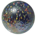 Giant Glass GlitterBomb Marble 35 mm (1.3 Inch) by House of Marbles