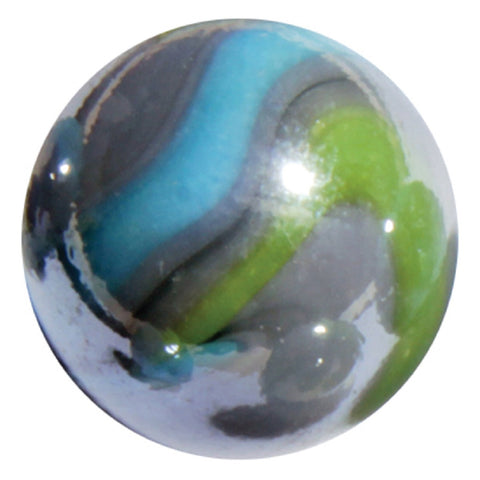 "Massive Glass ""Thunderbolt"" Marble 42 mm  by House of Marbles"