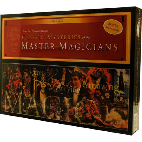 Classical Mysteries of the Master Magicians - Magic Kit