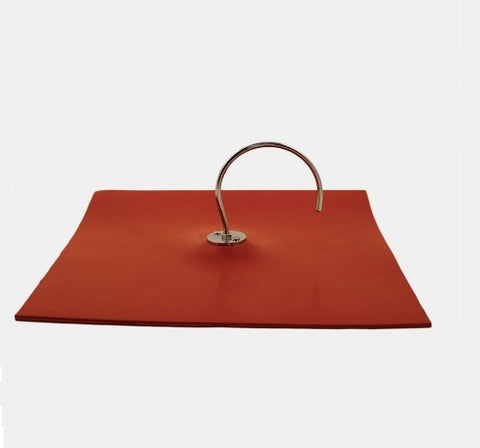 "10.5x10.5"" Heavy Duty Rubber Atmospheric Mat w/Hook, for Physics Demonstrations - Online Science Mall"