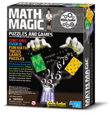 4M  Math Magic: 15 Tricks, Games & Puzzles