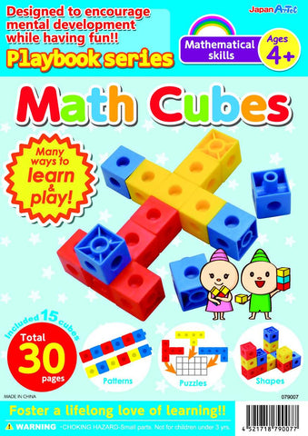 Math Cubes Basic Skills Ages 4+ Playbook By Artec