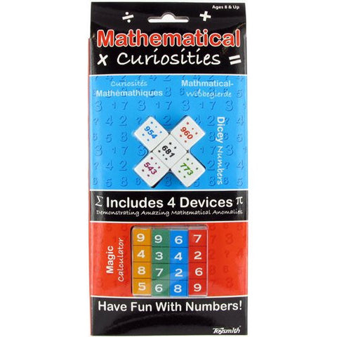 Mathematical Curiosities 4 Devices to Demonstrate Math Anomalies