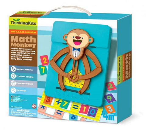 4M Thinking Kit STEM Learning Math Monkey Set