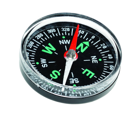 Magnetic Compass 1.5 Inch Diameter - Classroom Set of 30 Compasses