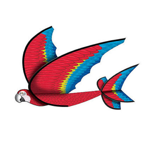 X Gliders FlexWing 3D Macaw - 25 Inch Wide Nylon Glider