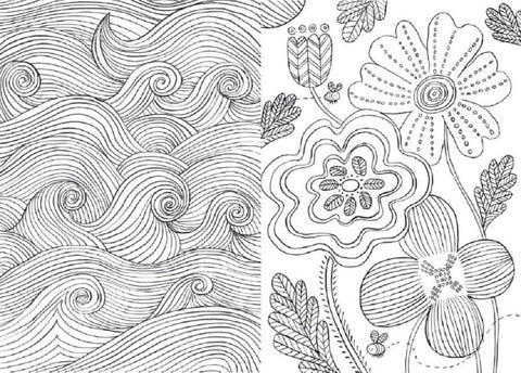 Mindfulness Coloring Book - Anti-Stress Art Therapy for Busy People ...