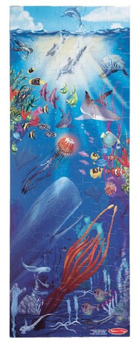 Extra Large 4 Foot;100 pc;  Under The Sea Floor Puzzle