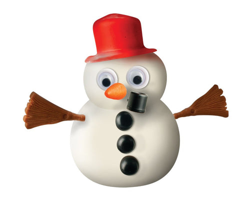 Melting Snowman Putty for Winter & Christmas