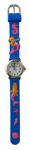 The Kids Watch Company Mermaid Watch Blue Band