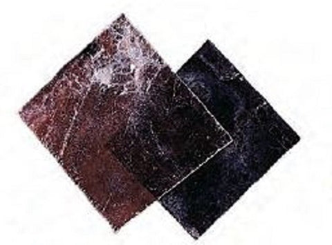 Mica Mineral Rock Square Sheet 1-2 Inch in Diameter Pack of 5