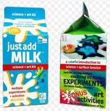 Just Add Milk - Science + Art Kit by Griddly Games