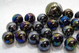 Milky Way Game Net Set 25 Piece Glass Mega Marbles