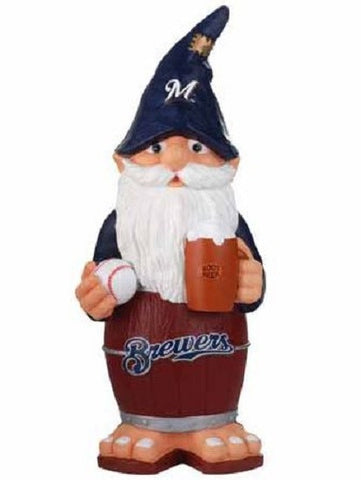 Milwaukee Brewers Thematic Team Garden Gnome