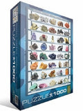 Minerals of the World- 1,000 Piece Educational Puzzle 26.5 x 19.25 in