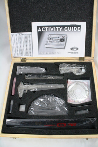 Student Learning Measurements Kit, w/Tools and Activity Guide