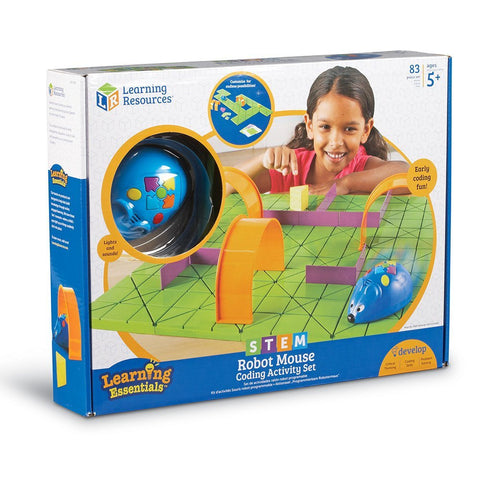 STEM Robot Mouse Coding Activity Set by Learning Essentials