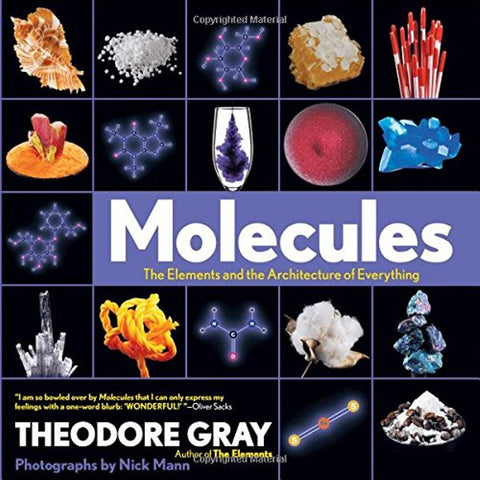 Molecules The Elements and the Architecture of Everything Hardcover Book