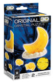 Original 3D Crystal 47-Pc Puzzle Moon Model